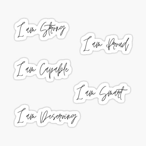 I Am... (Sticker Pack) Sticker