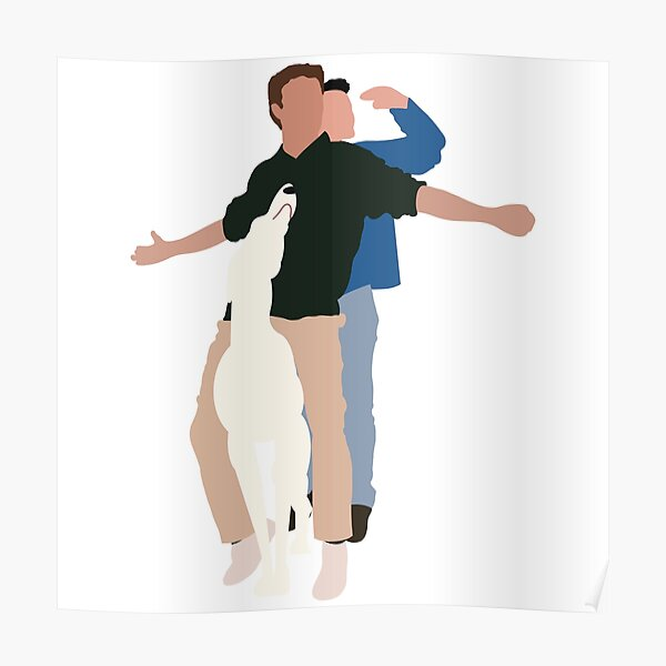 Chandler and Joey Poster