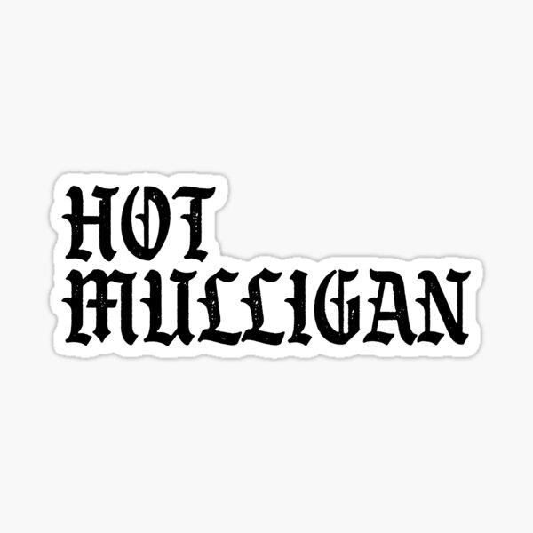 Hot Mulligan - Gothic Band Logo Sticker