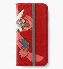 Blaziken With Fire Kanji iPhone Wallet/Case/Skin