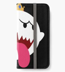 King Boo! Simplistic Design iPhone Wallet/Case/Skin