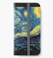 Vincent Van Gogh - Starry night  iPhone Wallet/Case/Skin
