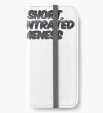 I'm not short, I'm concentrated awesomeness iPhone Wallet/Case/Skin