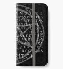 Übernatürlich - Exorzismus, Adios B * tch iPhone Flip-Case/Hülle/Skin