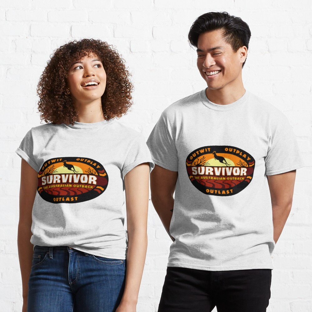 Survivor Australian Outback Logo Classic T-Shirt