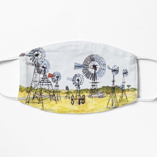 Australian Scene - Windmills - Penong, SA, Aus. Mask