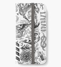 One Direction tattoos iPhone Wallet/Case/Skin