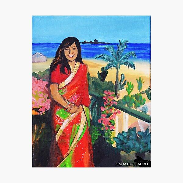 Indian Princess Photographic Print
