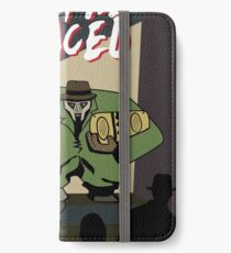Metal Faced - Comic Cover iPhone Wallet/Case/Skin