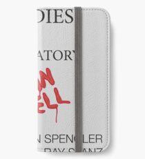 Paranormal Studies Laboratory - Ghostbusters iPhone Wallet/Case/Skin