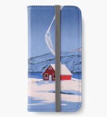 Red House iPhone Wallet/Case/Skin