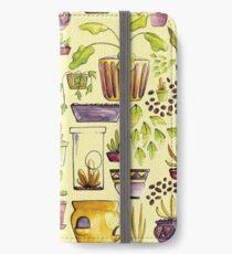 Indoor Plants and Pots iPhone Wallet/Case/Skin
