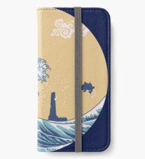 Das große Meer iPhone Flip-Case/Hülle/Skin