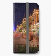 Nighttime On Main Street USA iPhone Wallet/Case/Skin