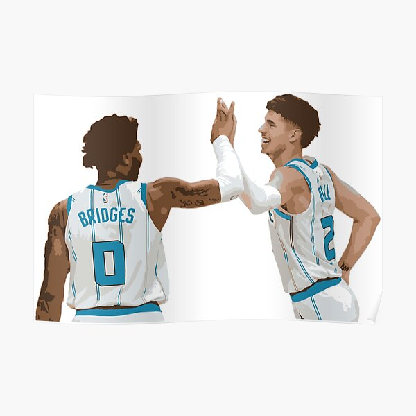 LaMelo Ball and Miles Bridges Poster