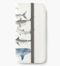 Sharks iPhone Wallet/Case/Skin