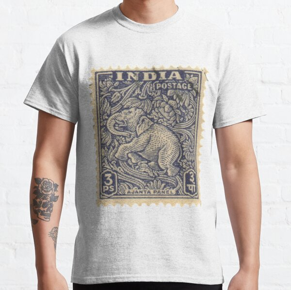 Stamp - India - Elephant - 3Ps Classic T-Shirt