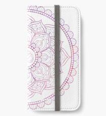 Pink Lotus iPhone Wallet/Case/Skin