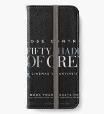 Fifty shades of Grey iPhone Wallet/Case/Skin