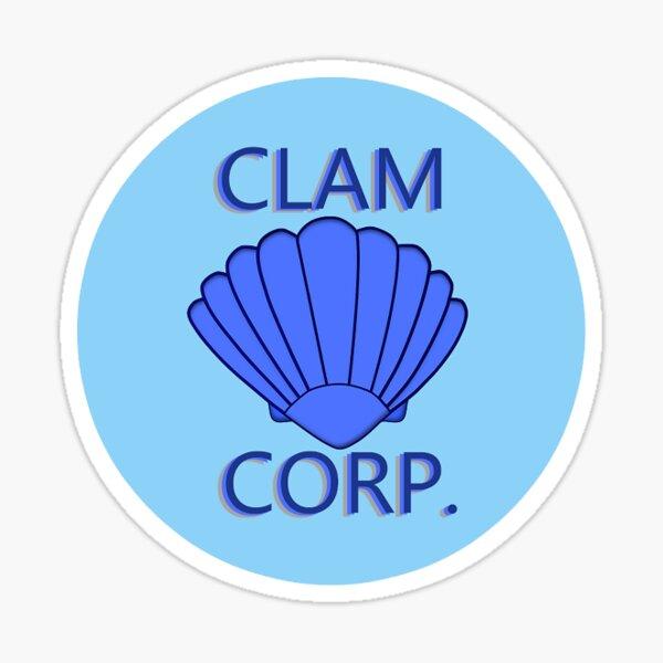 Clam Corp Sticker