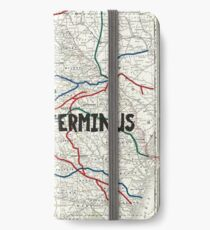 The Walking Dead - Terminus Map iPhone Wallet/Case/Skin