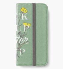 Suck it Up Buttercup iPhone Wallet/Case/Skin