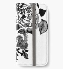 Black Rose iPhone Wallet/Case/Skin