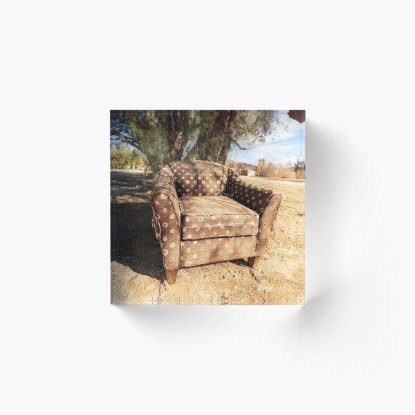Solitary Chair Acrylic Block