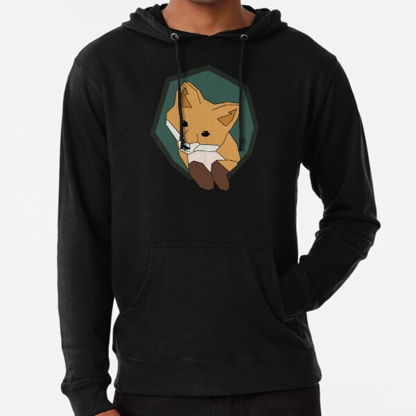Think Outside the Fox Lightweight Hoodie