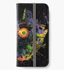 Majora's Mask Paint Splatter iPhone Wallet/Case/Skin