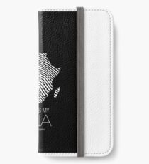 Africa is my DNA (black) iPhone Wallet/Case/Skin