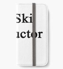 #1 Ski Instructor  iPhone Wallet/Case/Skin