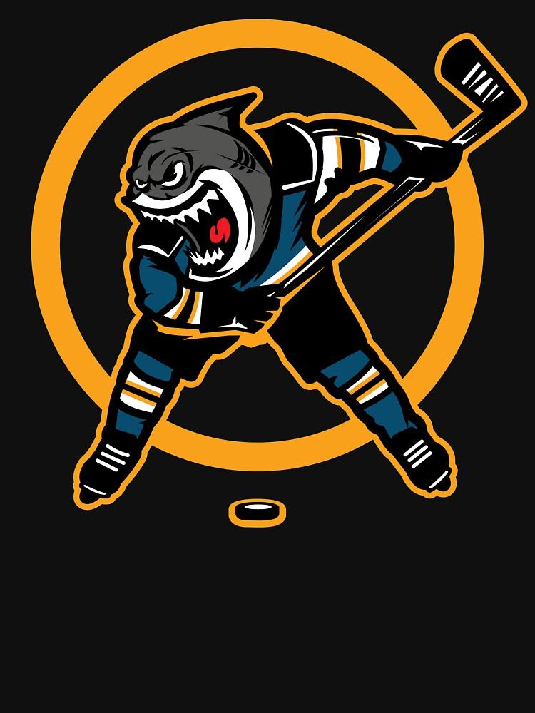 Shark Design San Jose Hockey by OrganicGraphic