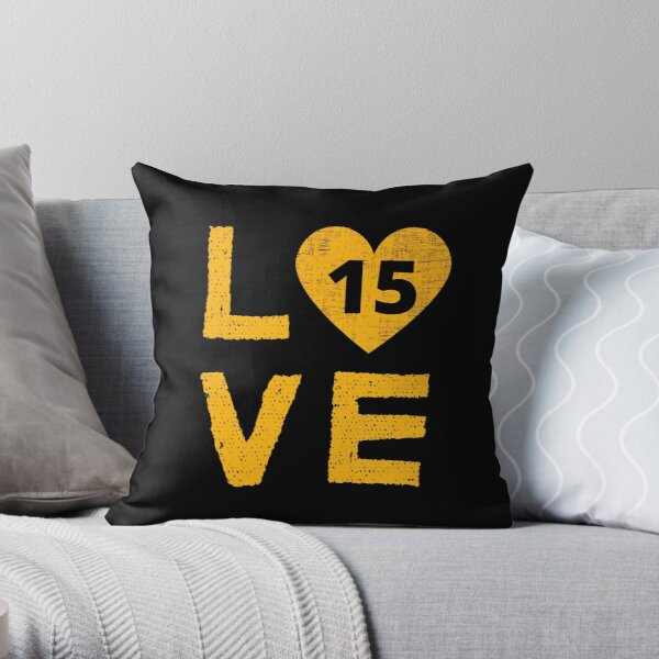Love KC 15 Throw Pillow