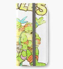 Retro Ninja Turtles iPhone Wallet/Case/Skin