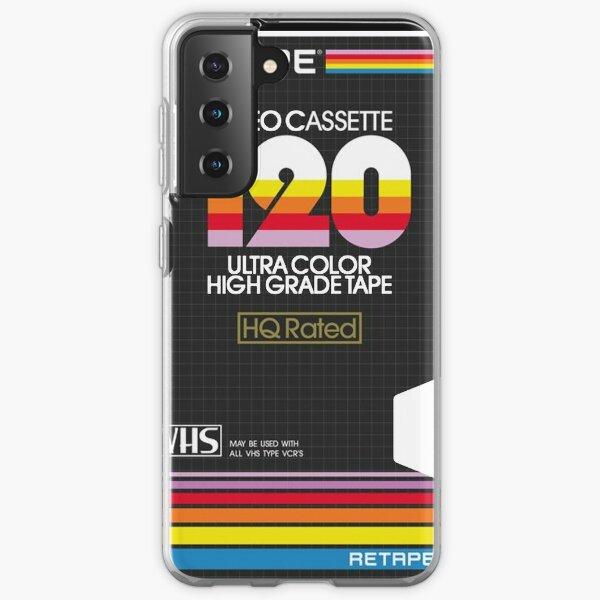 Retro VHS Case Aesthetic Samsung Galaxy Soft Case