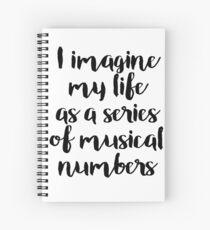 Cuaderno de espiral La vida como un musical