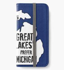 Prefer Michigan iPhone Wallet/Case/Skin