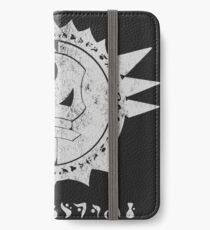 The Barron's order (white) iPhone Wallet/Case/Skin