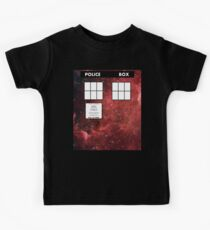 Through Time and Space Kids Tee