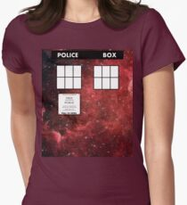 Through Time and Space Women's Fitted T-Shirt