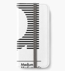 The Letter a Futura Type iPhone Wallet/Case/Skin