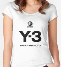 Yohji Yamamoto Y-3 Women's Fitted Scoop T-Shirt