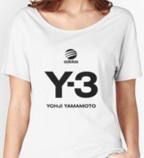 Yohji Yamamoto Y-3 Women's Relaxed Fit T-Shirt
