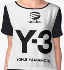 Yohji Yamamoto Y-3 Chiffon Top