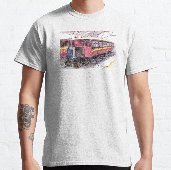 Australian Scene - Gulflander and Railmotor, Normanton, Qld, Aus. Classic T-Shirt