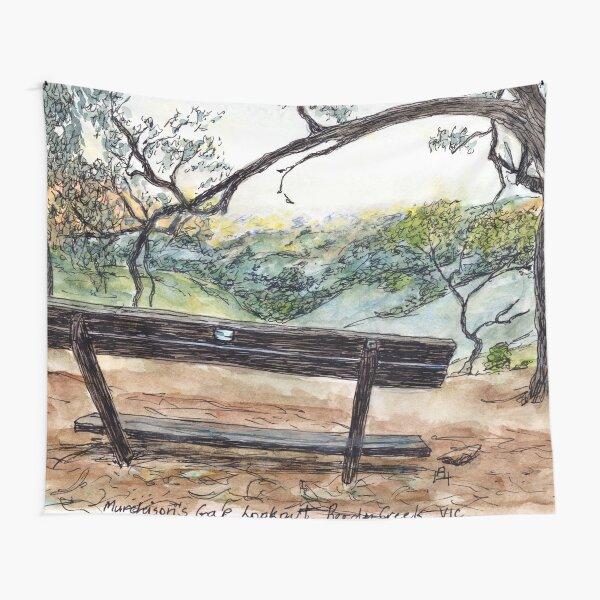 Australian Scene - Murchisons Gap Lookout, Vic, Aus. Tapestry