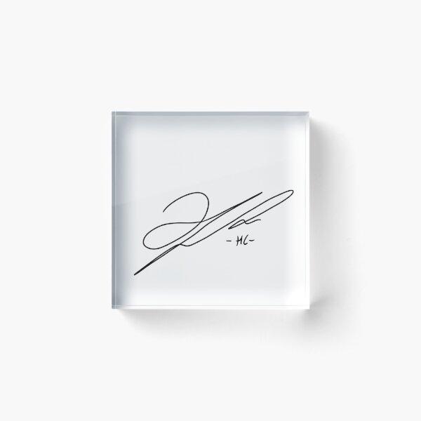 Lee Haechan Signature - NCT Acrylic Block
