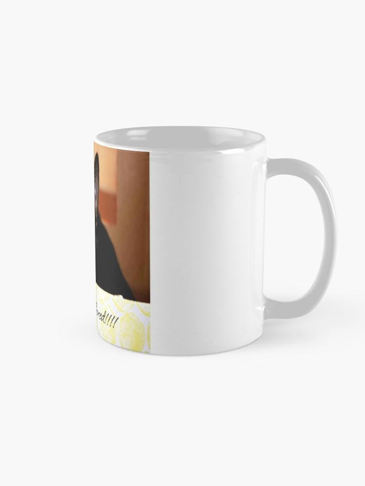 Alternate view of I'm so bored Mug