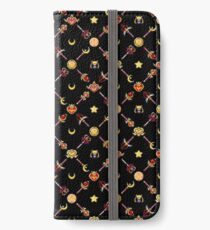 Sailor Moon Diagonal - Black iPhone Wallet/Case/Skin